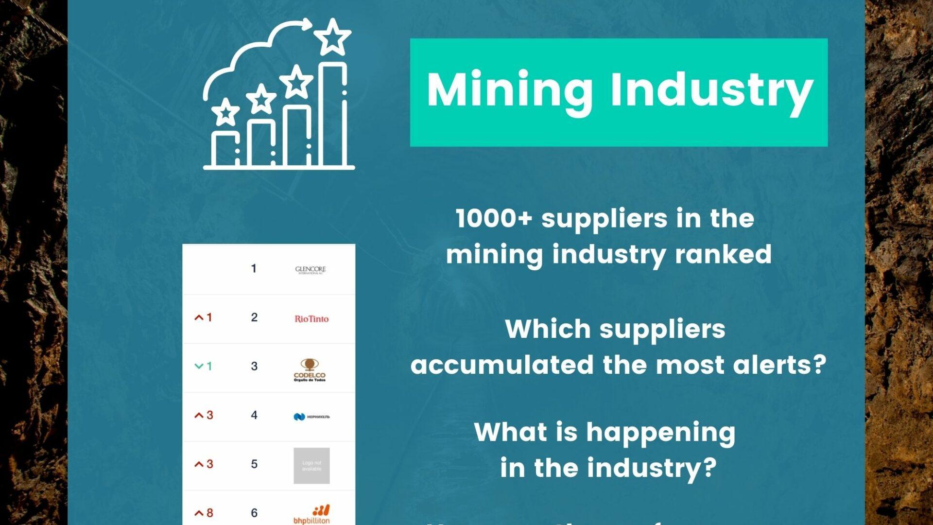 Prewave Sustainability Risk Ranking Mining