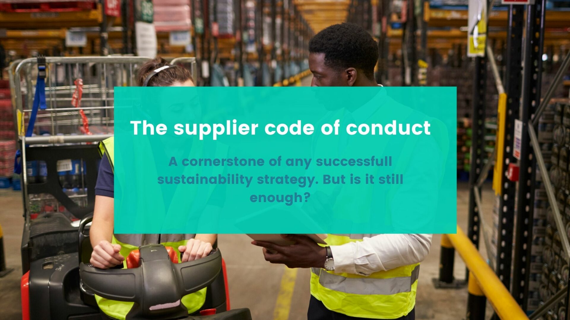 Supplier code of conduct (1)